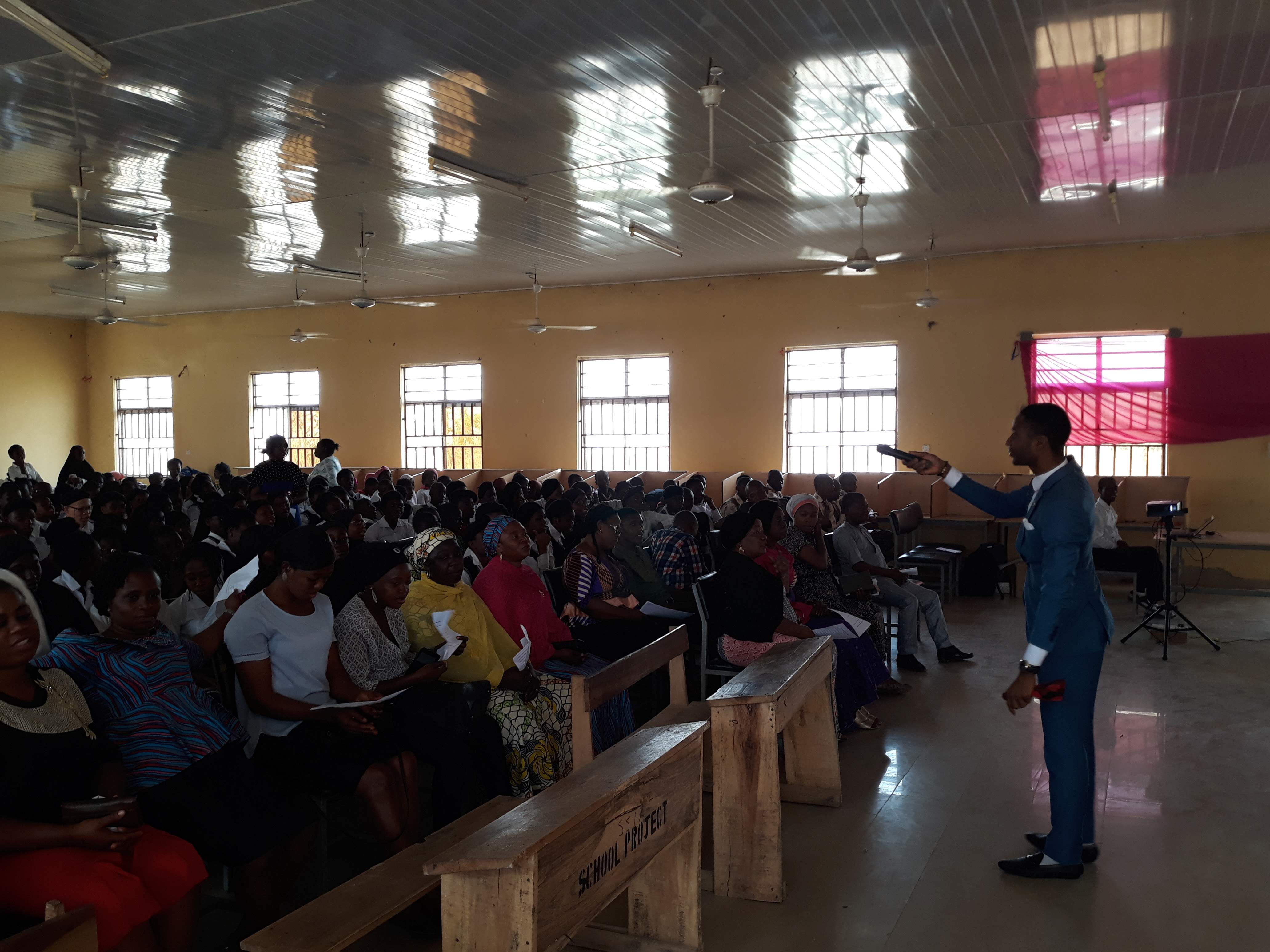 A Session with Students of GSS Kubwa, 2019