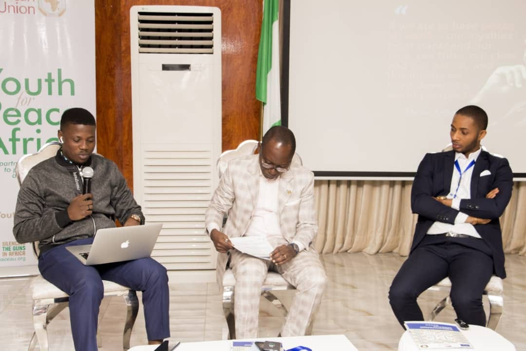 Talk Session with the Commissioner of youths, Oyo State